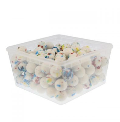 25,5mm Boulders White Speckled – 150 Pieces