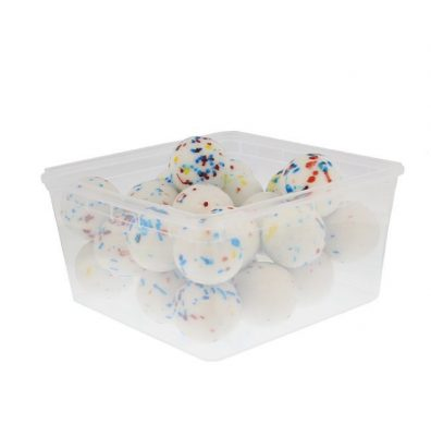 44mm Boulders White Speckled – 28 Pieces