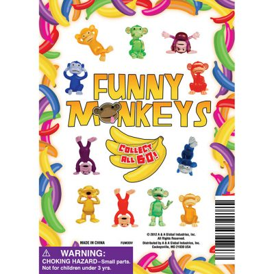 Funny Monkey Figurines