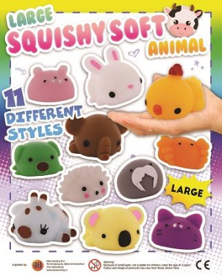 68mm Squishy Soft Animal
