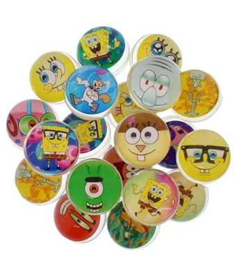 45mm Bouncingball Spongebob Mix