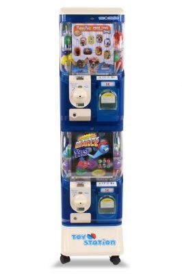 Toy Station 2 Acrylic  Blue White