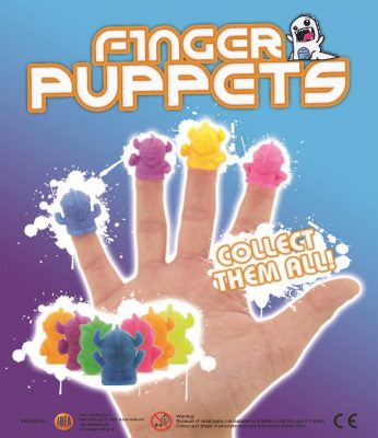 35mm Finger Puppets