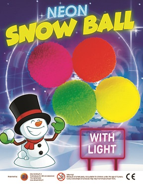 68mm Neon Snowball With Light