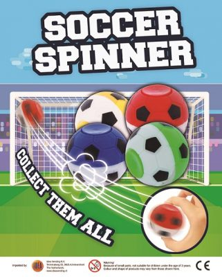 35mm Soccer Spinner