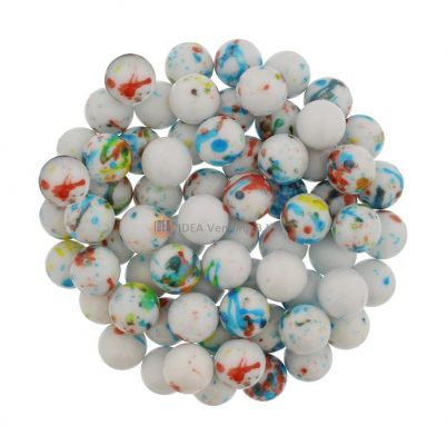 25,5mm Boulders White Speckled – 865ct