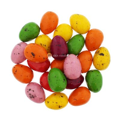 35mm Medium Gum Eggs Colored – 300ct