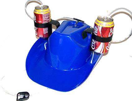 Cowboy Drinking Hat