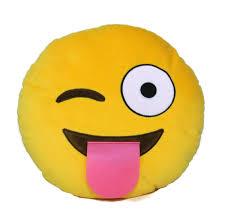 Emoji Plush Pillow 25 Cm