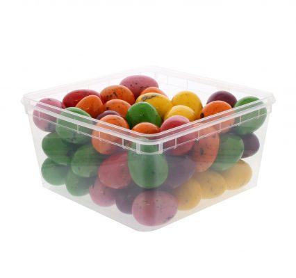 35mm Medium Gum Eggs Colored – 60 Pieces