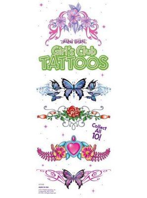 Girl Club Tattoos