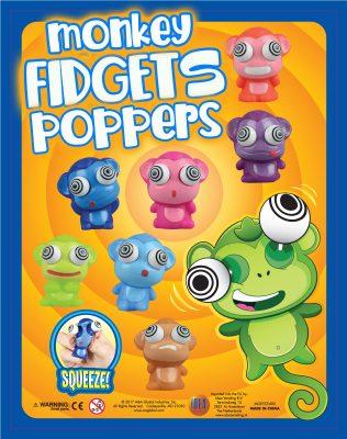50mm Monkey Fidget Poppers