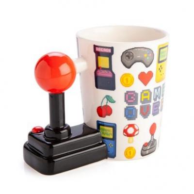 Ceramic Mug With Joystick