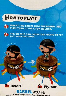 Pirate Barrel 1