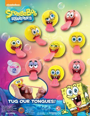 50mm Spongebob Tuggerz