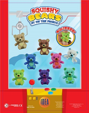 50mm Squishy Bears