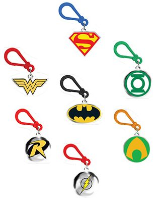 DC Comics Backpack Clips