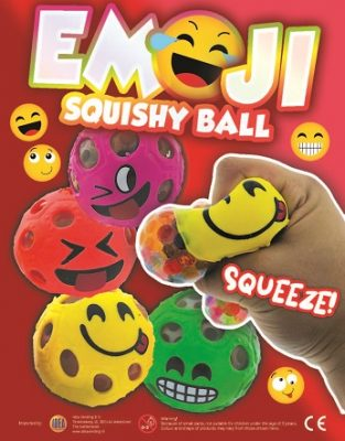 70mm Emoji Squishy Ball