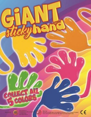 50mm Giant Sticky Hand