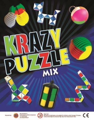 50mm Krazy Puzzle Mix