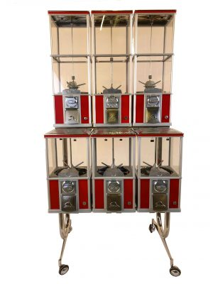 Vending Machine Beaver 6 Rack – USED