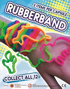 50mm 3 Rubberbands