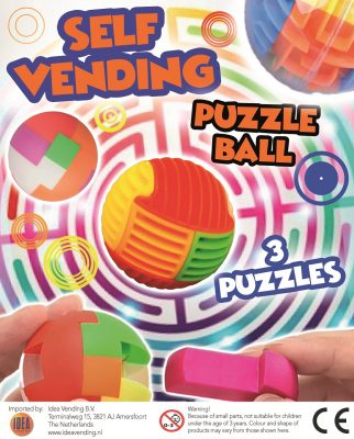 45mm Self Vending Puzzle Ball