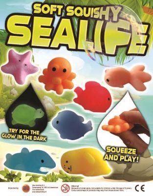 50mm Soft Squishy Sealife
