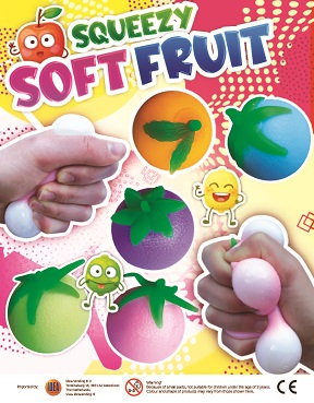 50mm Squeezy Soft Fruit