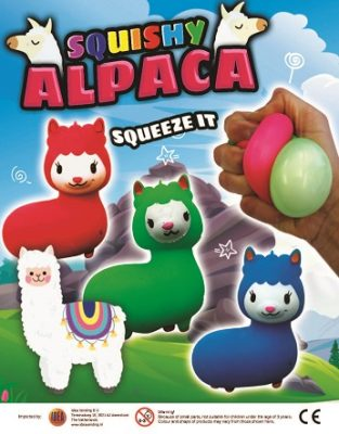 68mm Squishy Alpaca